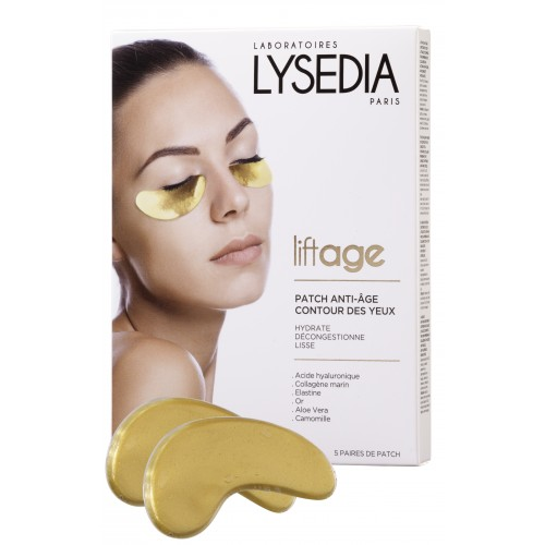 Lysedia Liftage Antiage Eye Patches x5 ζεύγη επιθεμάτων